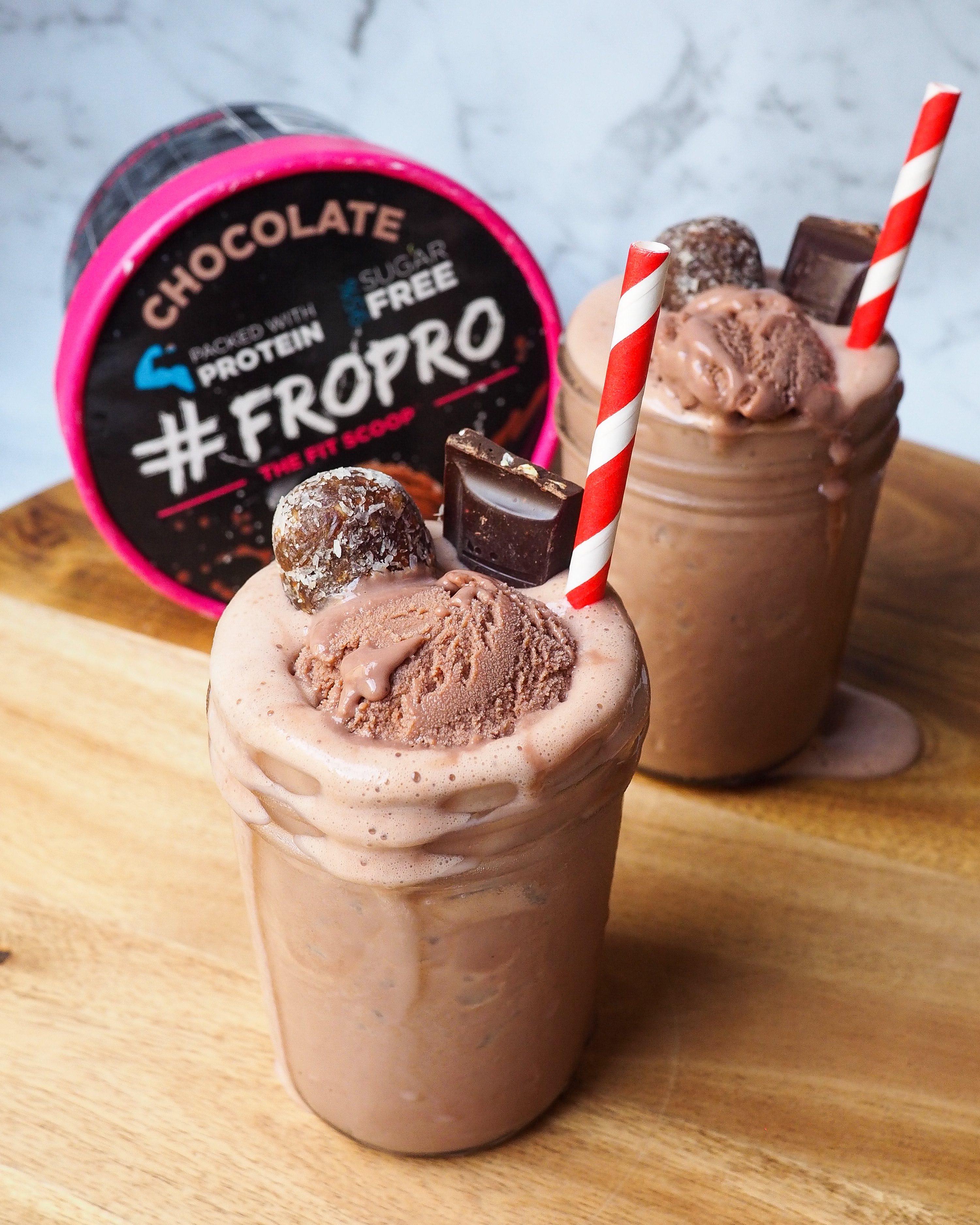Chocolate FROPRO Milkshake